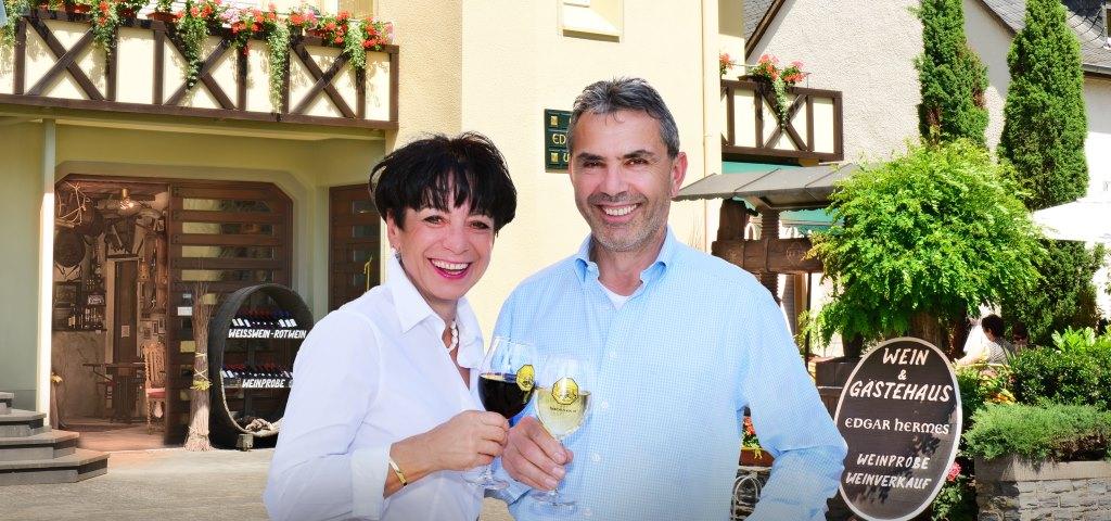 Edgar und Ingrid Hermes - Ihre Gastgeber