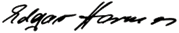 Unterschrift Edgar hermes